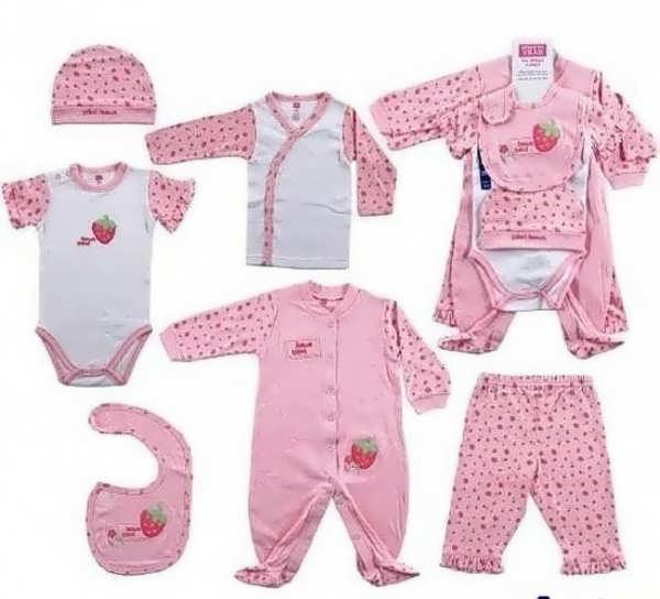 مدل های متنوع لباس نوزادی دخترانه