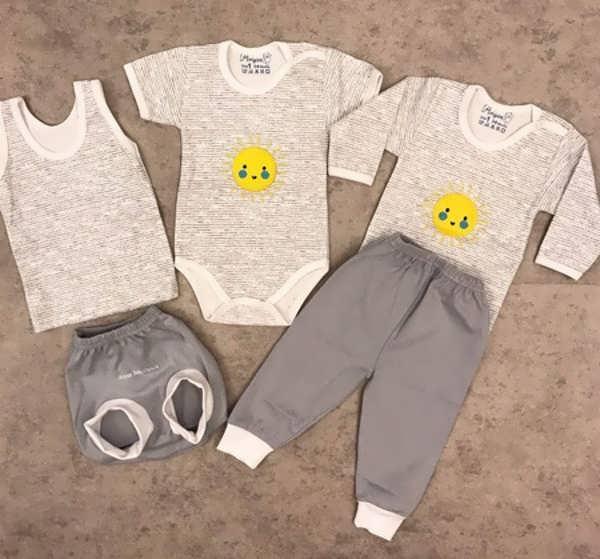 انواع لباس نوزادی با طرح های جدید و جذاب