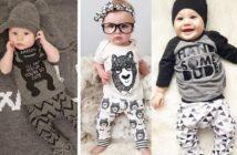 انواع مدل های متنوع و شیک لباس نوزادی