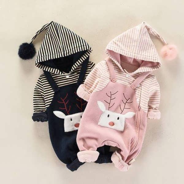 انواع لباس نوزادی زمستانی