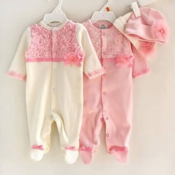 انواع لباس نوزادی با طرح های جالب