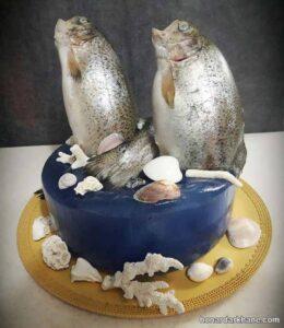 انواع دیزاین خلاقانه مرغ و ماهی یخچال عروس