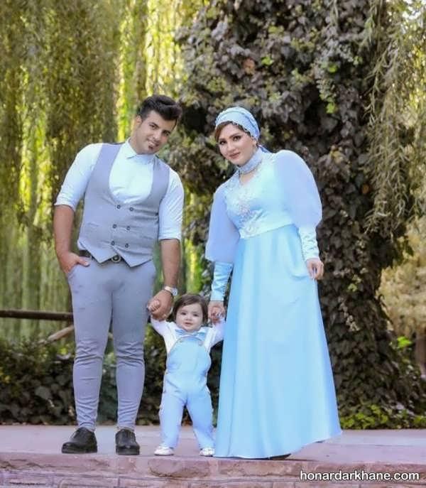 انواع ست لباس زیبا و جذاب خانوادگی