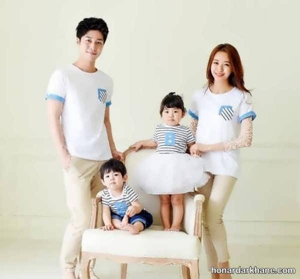 انواع لباس جدید و اسپرت خانوادگی