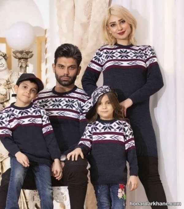 انواع ست لباس خانوادگی زیبا و جذاب