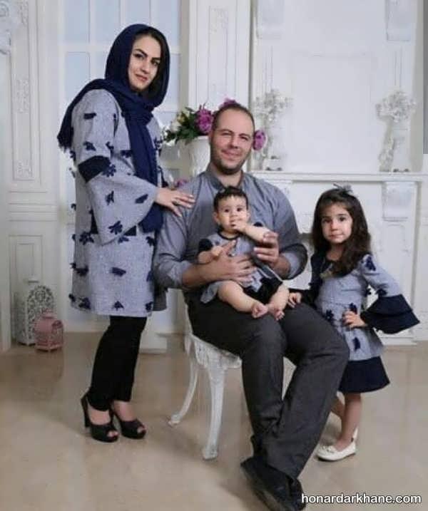 انواع ست لباس شیک و جدید خانواده