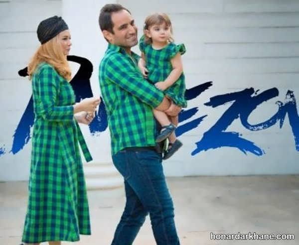 مدل های جذاب و شیک ست لباس خانوادگی