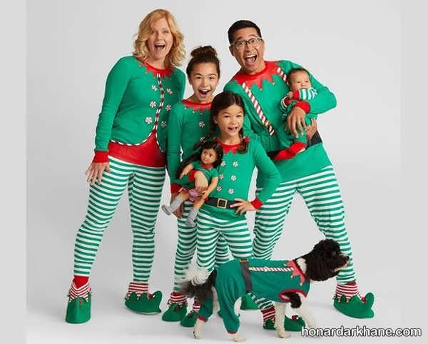انواع ست لباس شیک خانواده