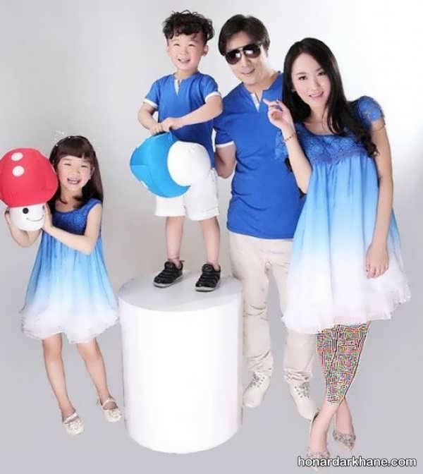 انواع ست لباس مجلسی خانوادگی