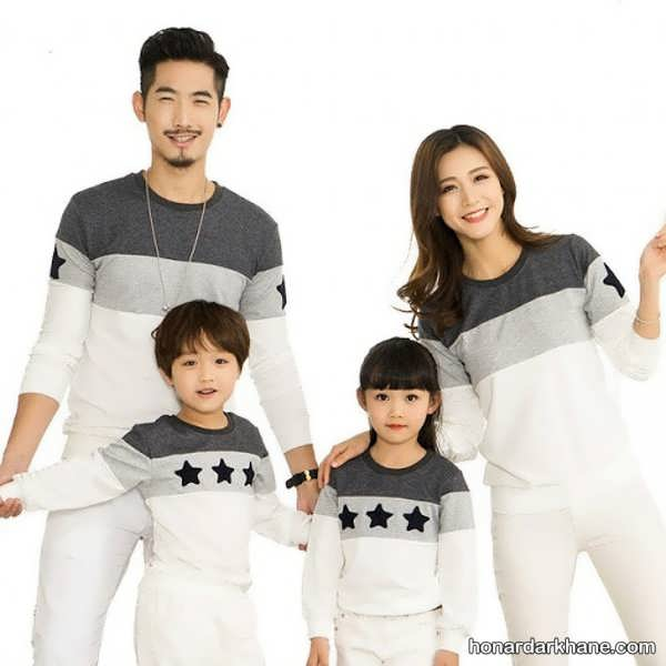مدل های زیبا و جدید ست لباس خانواده