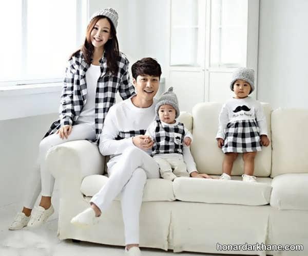 انواع ست لباس زیبا و جذاب خانواده