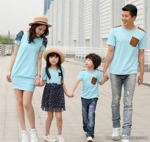 انواع ست شیک و جذاب لباس خانوادگی