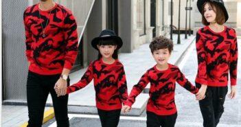 انواع مدل های شیک ست لباس خانوادگی