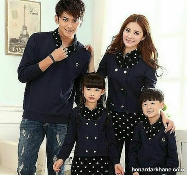 انواع لباس یکدست اسپرت خانوادگی
