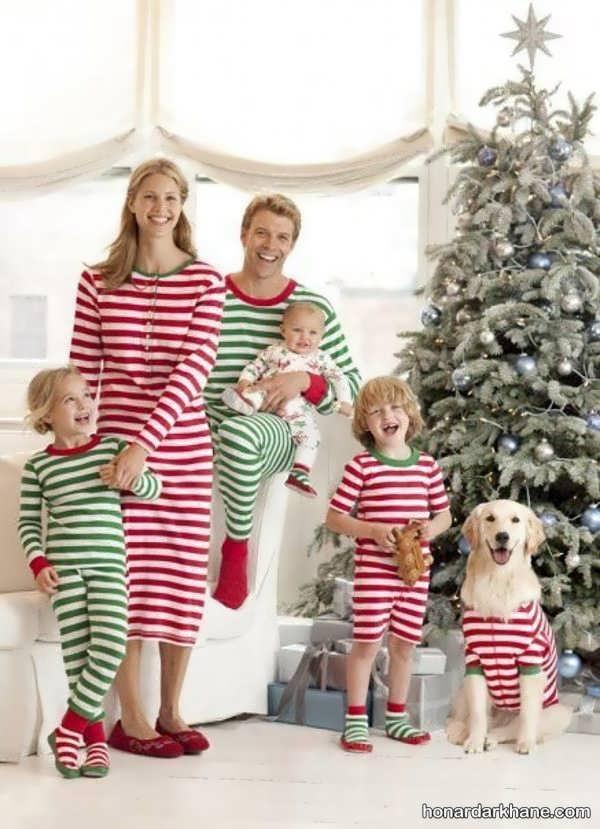 انواع لباس جالب یکدست خانوادگی