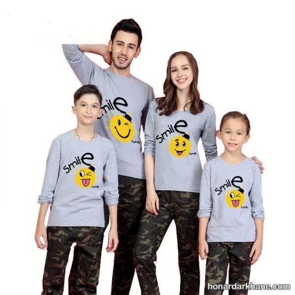 انواع ست لباس اسپرت خانوادگی