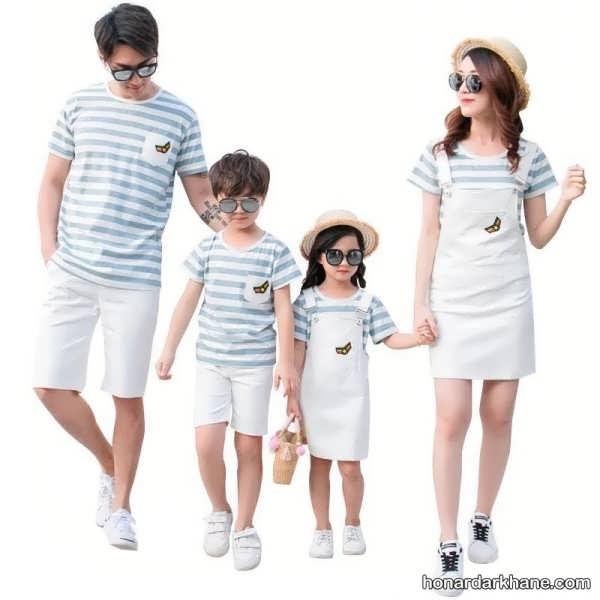 انواع ست لباس زیبا و خاص خانواده