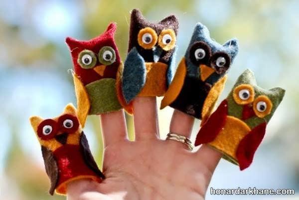 انواع عروسک انگشتی بامزه و جالب