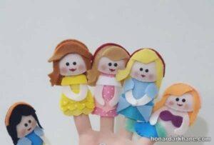 انواع عروسک انگشتی زیبا و جدید