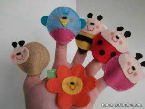 انواع عروسک انگشتی جالب و بامزه
