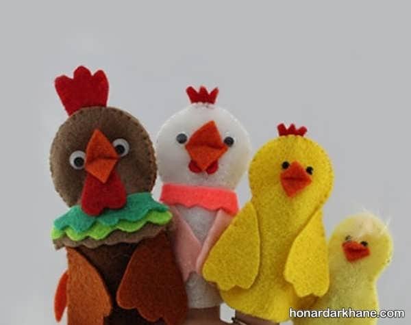 انواع عروسک انگشتی به شکل حیوانات