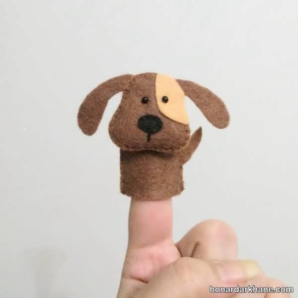 انواع عروسک انگشتی به شکل های مختلف