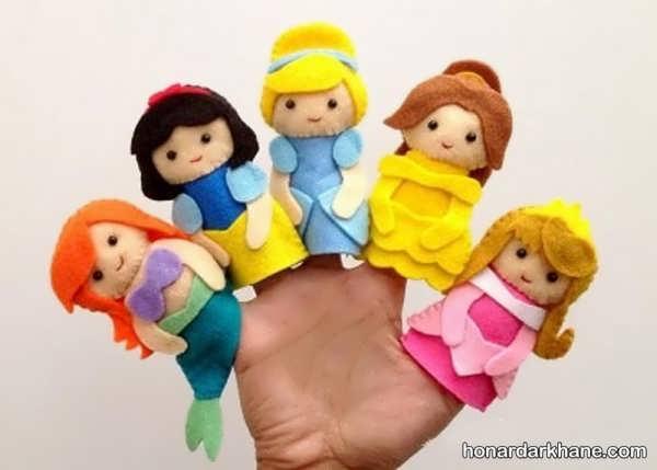 انواع عروسک انگشتی جالب و جذاب