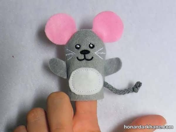 انواع مدل های جالب و بامزه عروسک انگشتی
