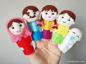 انواع عروسک انگشتی جدید و خلاقانه