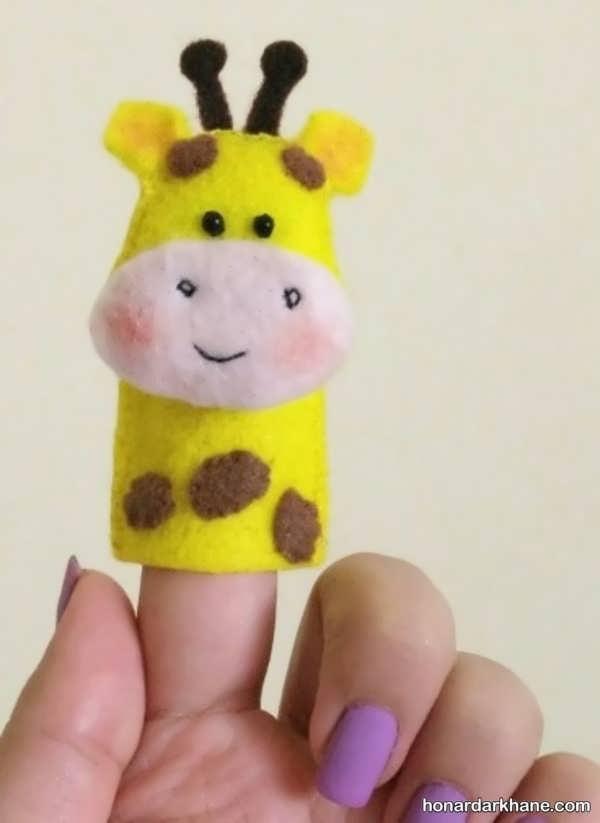 انواع عروسک انگشتی بامزه و خلاقانه