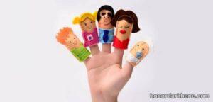 انواع عروسک انگشتی نمدی زیبا و جالب