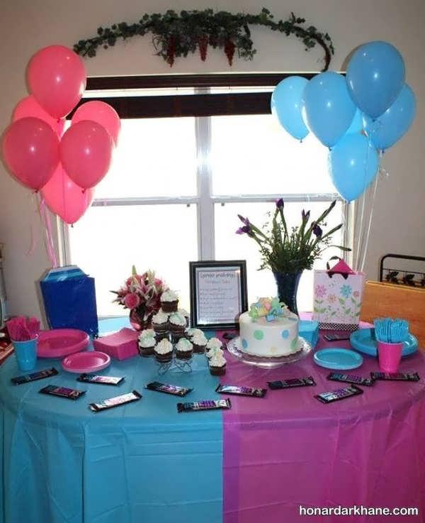 انواع تزیینات مختلف جشن تعیین جنسیت
