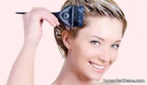 شیوه رنگ کردن مو در منزل