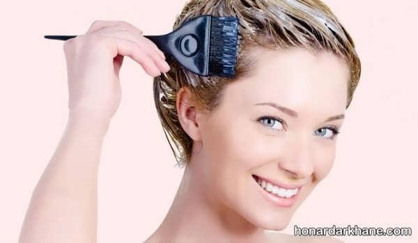 شیوه رنگ کردن مو در منزل   رنگ کردن مو در خانه و آموزش ترفندهای مهم برای ترکیب رنگ مو  شماره بندی اکسیدان ها  رنگ نمودن موهای سفید