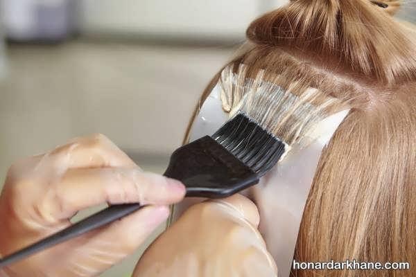 طریقه رنگ کردن مو همراه با نکات اصلی   رنگ کردن مو در خانه و آموزش ترفندهای مهم برای ترکیب رنگ مو  شماره بندی اکسیدان ها  رنگ نمودن موهای سفید
