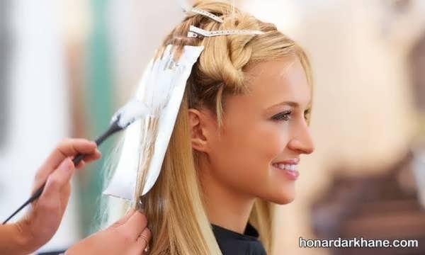 شیوه رنگ کردن مو در خانه  رنگ کردن مو در خانه و آموزش ترفندهای مهم برای ترکیب رنگ مو  شماره بندی اکسیدان ها  رنگ نمودن موهای سفید