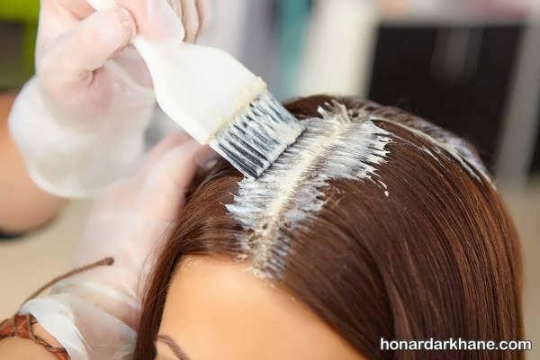 آموزش رنگ زدن مو به روشی راحت