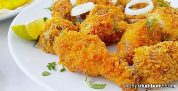 شیوه پخت مرغ سوخاری لذیذ و عالی