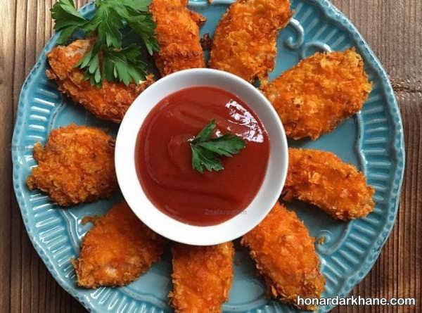 طرز تهیه مرغ سوخاری لذیذ