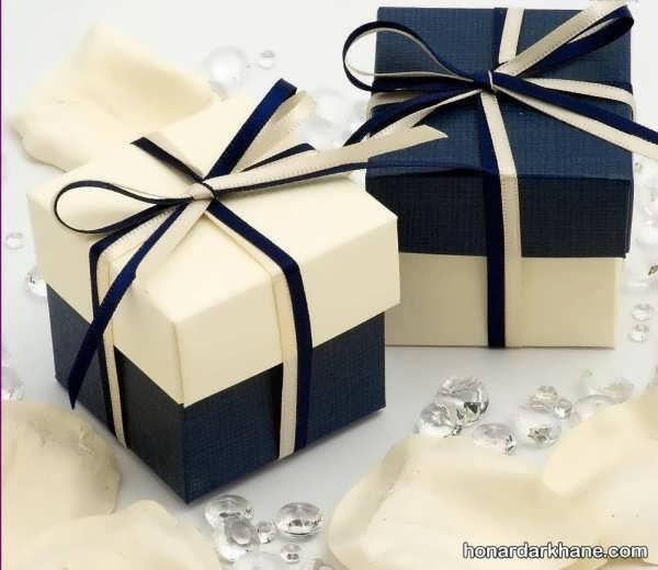 شیوه ساخت باکس هدیه با 5 روش مختلف