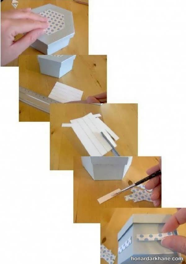 شیوه ساخت جعبه هدیه شیک و خاص