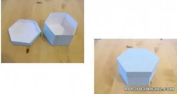 آموزش درست کردن جعبه کادو
