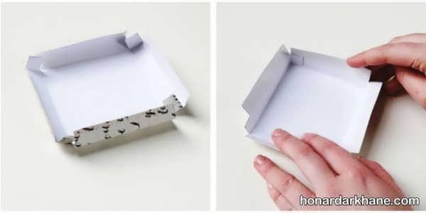 طریقه ساختن جعبه هدیه زیبا و جالب
