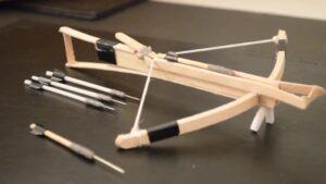 نحوه ساخت تیر کمان با چوب