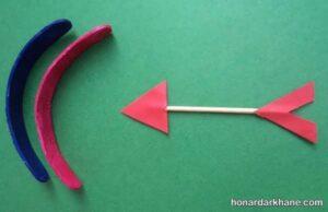 طریقه ساختن تیر کمان ساده و زیبا