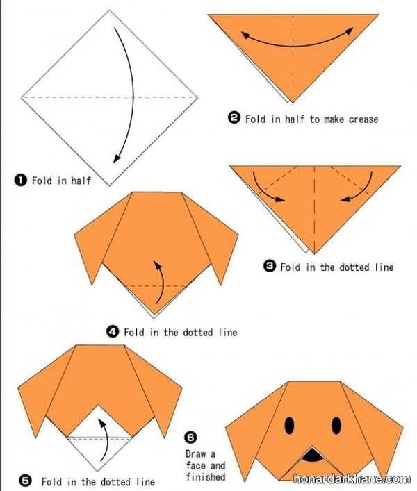 طریقه درست کردن اوریگامی زیبا و جالب