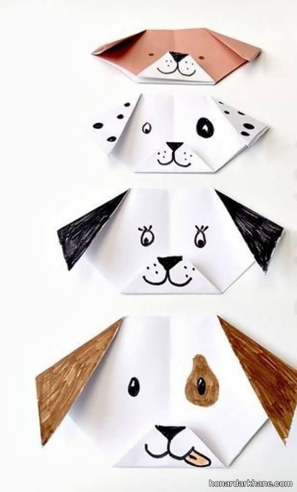 نحوه ساخت اوریگامی ساده