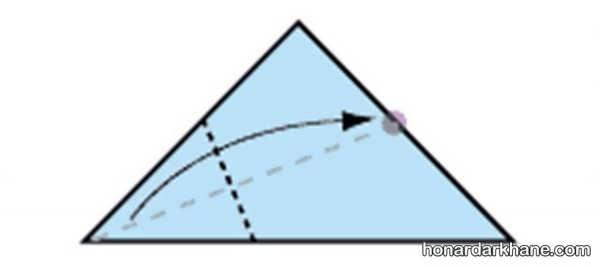 نحوه ساختن اوریگامی جالب و راحت