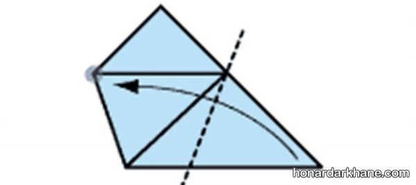 شیوه درست کردن اوریگامی جالب