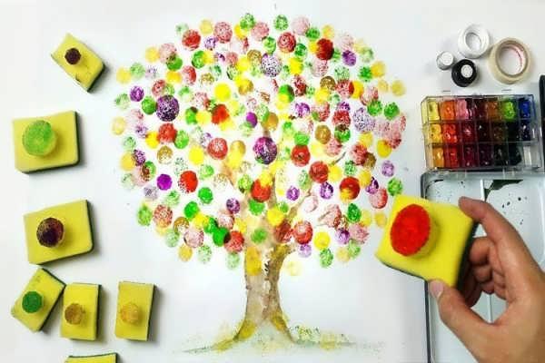 یادگیری نقاشی با آبرنگ به شیوه ای راحت